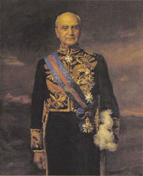 Portrait of Sir Isaacs Isaacs in Regalia as Governor General