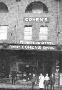 Photo circa 1910 of Cohens Furniture  Emporium
